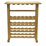24-Bottle Wine Rack - Natural