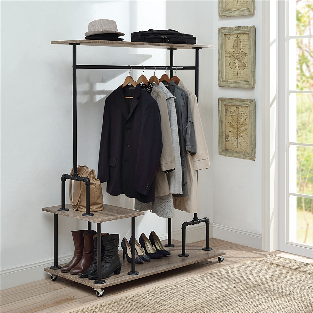 Closet Organizer Manchester Industrial Collection