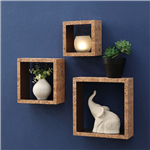 Cork Wall Cubes