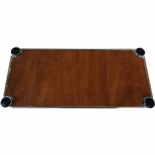 "8""d Cherry Wood Grain Shelf Liners"