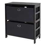 Torino 3-Piece Set Storage Shelf w/ Baskets