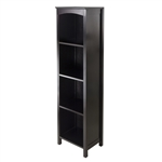 Terrace Storage Shelf 5-Tier - Espresso