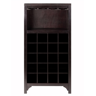 Ancona Modular Wine Cabinet w/ Glass Rack