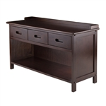 Adriana 3 - Drawer Bench w/ Storage