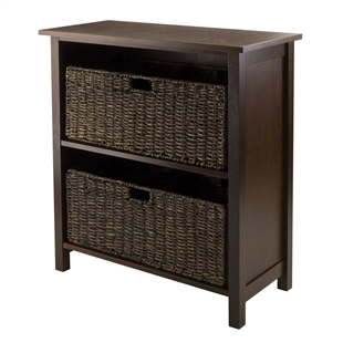Granville 3-Piece Storage Shelf w/ 2 Baskets