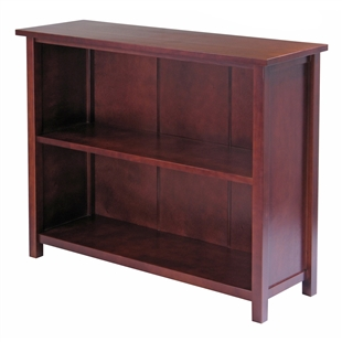 Milan 3-Tier Long Storage Shelf or Bookcase (94539)