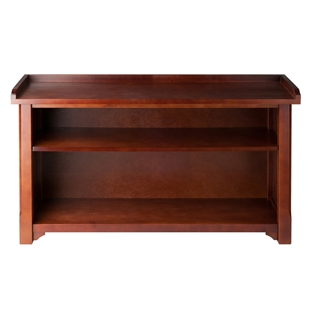 Milan Bench w/ Storage Shelf