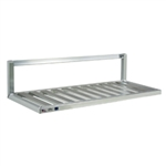"20""d Inverted Aluminum Wall Shelves"