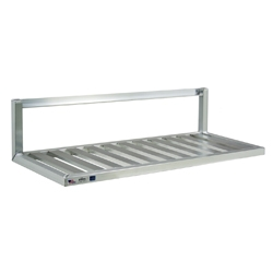 Inverted Aluminum Wall Shelf