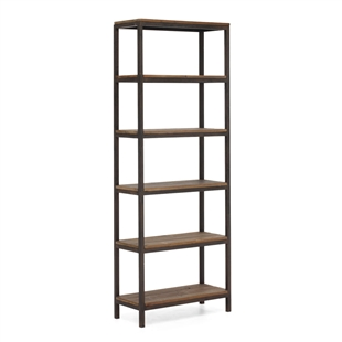 Mission Bay Tall 6 Level Shelf Distressed Natural