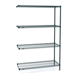 "18""d x 63""h Super Erecta 4-Shelf Add-On Units"
