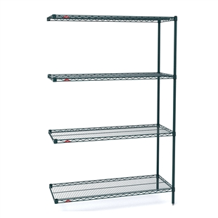 "21""d x 63""h Super Erecta 4-Shelf Add-On Units"