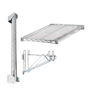 d Adjustable Wall Mounted Wire Shelf Add On Kit