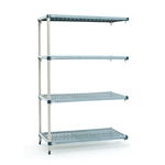 "21""d x 63""h MetroMax Q 4-Shelf Add-On Units"