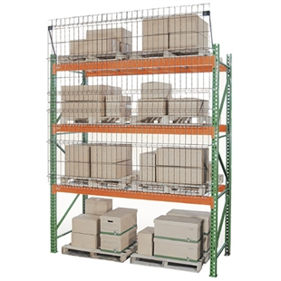 Aisle Shield for Pallet Racks
