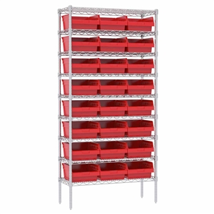 "6"" ShelfMax Wire Shelving Systems"