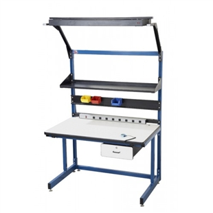Pro-Line Laminate Cantilever Leg Workstation
