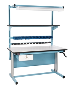 Pro-Line Laminate Ergonomic Workstation