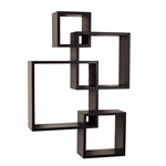 Intersecting Cube Shelves