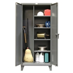 Stronghold Broom Closet Cabinets
