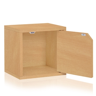 Eco friendly storage cube in multiple colors