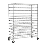 13-Tier Mobile Agribusiness Drying Rack