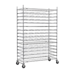 16-Tier Mobile Agribusiness Drying Rack
