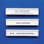 Shelf Label Strip