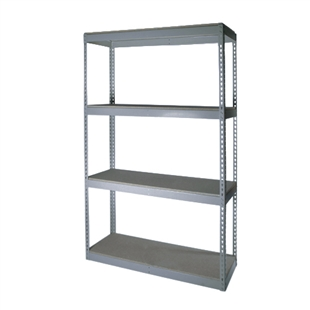 "30""Depth Double Rivet Shelving"