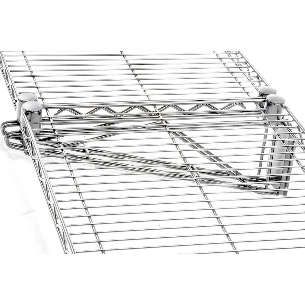 24 D Wall Mounted Wire Shelf Add On Kit