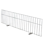 Wire Deck Divider for pallet racking