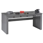 Electric Workbench w/ Steel Top