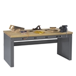 Electric Workbench w/ Hardwood Top