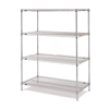 Metro Super Erecta 4 Shelf Kit