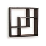 Geometric Square Wall Shelf