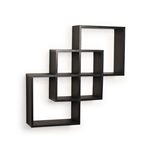 Intersecting Squares Wall Shelf