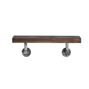 Floating Pipe Wall Shelf - 36""