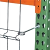 Eyebolts for Pallet Rack Aisle Shields