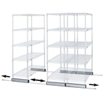 Single Skate Kit for Wire Shelving