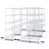 Double Skate Kit for Wire Shelving
