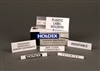 Clear Hol-Dex Label Holders - 12pk