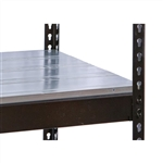"36""d Metal EZ-Decks for Rivetwell Shelving"