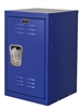 "Kids Blue Mini Locker 15""d x 15""w x 24""h"