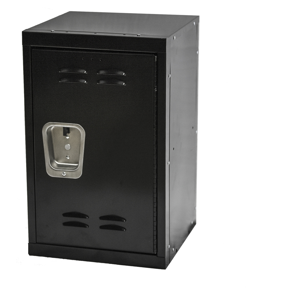 kids black mini lockers 15 quot d x 15 quot w x 24 quot h unique storage