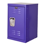 "Kids Purple Mini Locker 15""d x 15""w x 24""h"