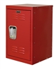 "Kids Red Mini Locker 15""d x 15""w x 24""h"
