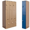 AquaMax Plastic Lockers - Double Tier
