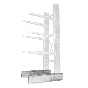 Galvanized Cantilever Bases
