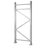 Galvanized Pallet Rack Uprights