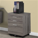 3 Drawer File Cabinet On Casters